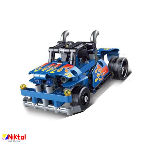 پازل ساختنی دکول ماشین مسابقه 3815
